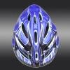 Bike helmet, PVC shell , 11-vent, white EPS inner, SD011-2