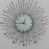60cm Sun shape Iron art Taiwan machine clock