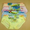 0.32USD High Quality Cotton Assorted-Print Lovely Child/Children Thong Panties (jlhnk165)
