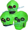 lighted halloween decoration inflatable colour changing skull