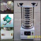 lab vibrating sieve machine for silica sand analysis