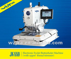 JK-559 National Patent Eyelet Buttonholer Industrial Sewing Machine