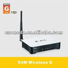 JI-525A1 54M Wireless G Router OEM for euro,us,south,south america,mideast