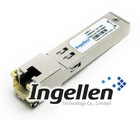 1000BASE-T SFP transceiver module for Category 5 copper wire RJ-45 connector