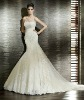 Off-Shoulder Beaded Long Tail Fishtail Wedding Dresses