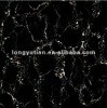 Floor tile black color micro crystal stone polished imitation glass tiles (DRK-8866 )