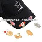 Golf Cap Clip With Enamel Badge