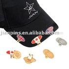 Golf Cap Clip With Enamel Badge