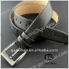 High Quality Most Popular in European Market Black Color Brand Doula Buckle Belt with Pin Buckle