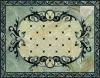 Porcelain tile medallion VPS108