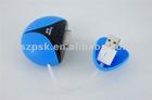 Mini Magic Power Ball:1800mah High-Capacity Emergent Power Bank External Battery Charger for iPhone/IPod/IPad/Sunsang/HTC