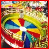 Crazy rotating! Theme park amusement Disco Turntable kiddie ride