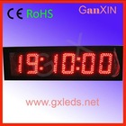 alibaba express 5inch 6digits 7 segment countdown clock oled display