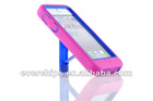 pink impact hard case cover kickstand for iphone 5