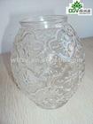 artistic transparent glass cup