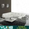 modern living room corner leather sofa