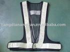 Double duty fluorescent safety vest