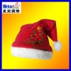 ST-FM04-2# cute plait plush christmas/santa hats cotton/polyester/non-woven fabric headband