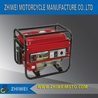 2kw gasoline engine generator set (ZW-G2500A)