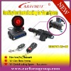 one way auto alarm security system with central locking