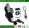 New Portable Car Kits bluetooth fm transmitter for iPhone 4S iPod with remote control