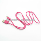 Latest 8 pin usb cable lighting usb data cable for iphone5 charging&sync data