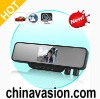Rearview Mirror DVR with Dual Swivel Camera and 3.5 Inch LCD Screen