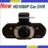 H.264 GS3000 Portable Camcorder HD1080P 5.0 Mega Pixel Black Box HD Car DVR Video Recorder Support Day & Night Recording