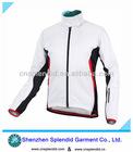 2012 latest fastion white long sleeve blank sportswear