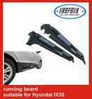 aluminum side running board for Hyundai IX35