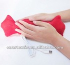 2012 new style fashion usb warm lovely shape candy pillow
