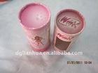 Pink Round Paper Tube