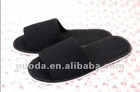 open toe colorful waffle fabric slippers