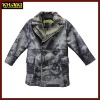 Russian style boys winter coats outer wear special printing cover kids wear