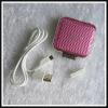 Mini Portable for iphone 4/4s power bank High quality charge with three LED indicator shows