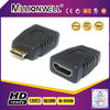 newest HDMI type A female to type C male adapter