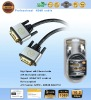 DVI cable for DVD,PS3,HDTV,computer,DVB, TOP BOX.(D1040S-BT)