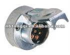 trailer parts 7 pin metal socket