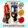 Cute Mix Wool Balls Warm Knitted Scarf Wrap Shawl Pom Scraves Shurg Stole New CY0375