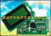 SPLC780D Controller0802B Yellow-Green LCD display