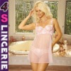 2011 per-sale Women's Babydoll Chemise lingerie bar&top set include panty