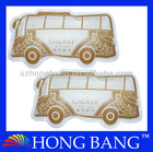 Promotional bus shape reuseable instant heat pack