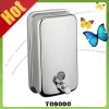 Best hand soap dispenser V808 , made of AISI 304 stainless steel , satin or polilshed finished