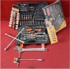 """(HD-0015005)151PCS 1/4"""" & 3/8"""" & 1/2"""" Dr Socket and Wrench Combination Wrench Set,RatchetSocket &Wrenches Set for Car Repairing"""