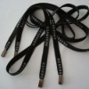 (New LP6025)Polyester plat cord and with logos printed on it
