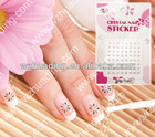 Fashion Water-adhesive Polish Nail Sticker