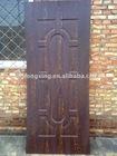 nine panels melamine moulded door skin