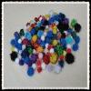 pompoms for diy crafts,christmas pompoms polypropylene