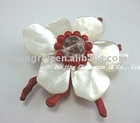 coral shell nugget FW pearl glass beads flower shape Accessory
