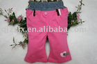 girl's cotton pants